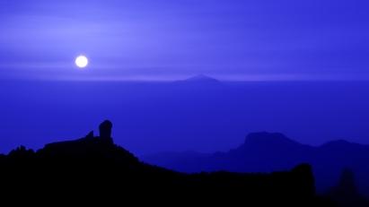 Roque Nublo y Teide
